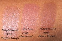 maybelline toffee tango revlon hazelnut maybelline bean there nude lip dark skin