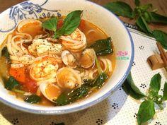 番茄海鮮高湯