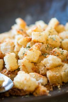 Crispy, cheesy, and ranchy? Ok, that last one may not be a word but is there anything better than that combo? Shake N Bake Ranch Potatoes are here! ohsweetbasil.com