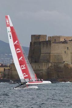 Luna Rossa in #Naples #ACWSNaples #sailing