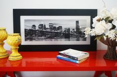 Quadro Decorativo – Ponte e Manhattan