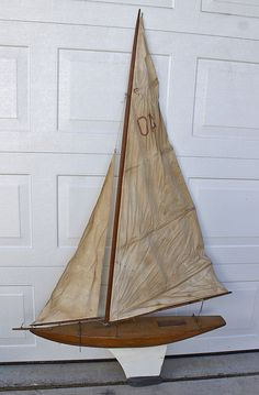 Pond Yacht 40 inches long