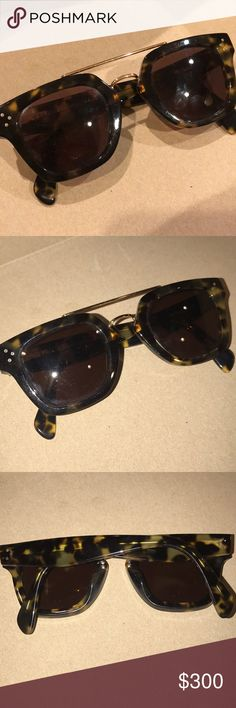 58c604aa1353 Celine Sunglasses Authentic. Worn a few times. In good condition  tortoise  shell color. Poshmark