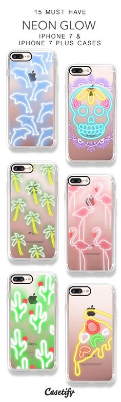 Light it up. 15 Must Have iPhone 7 Cases and iPhone 7 Plus Cases here > https://www.casetify.com/artworks/z8t92cDsnK