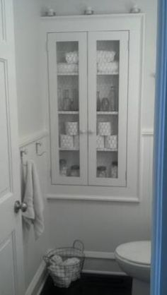 recessed bath storage