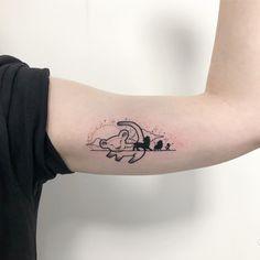 101 Magical Disney Tattoos That Will Inspire You to Get Inked diy best tattoo - best diy tattoo - be Head Tattoos, Skull Tattoos, Cute Tattoos, Body Art Tattoos, Sleeve Tattoos, Tatoos, Diy Tattoo, Get A Tattoo, Tattoo Ideas