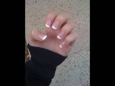 MszJackieChu's Easy at home French manicure tutorial... you can apply this tutorial to doing your toenails as well. This has saved me a lot of money.