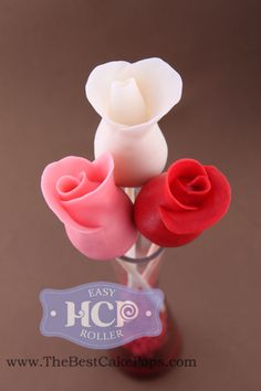 Favorite Cake Pops ~By HCP Easy Roller ~Rose Cake Pops! Click to Learn to make them yourself;)! ...This is how we roll;)