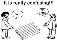 It's really confusing.