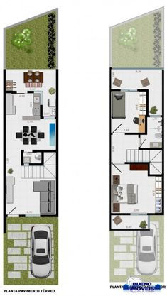Ryan shed plans 12 000 shed plans and designs for easy shed building — ryanshedplans Narrow House Designs, Modern Small House Design, Narrow House Plans, Duplex House Plans, Small House Plans, House Floor Plans, House Construction Plan, Model House Plan, Long House