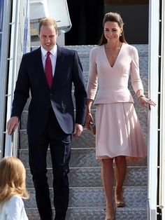Canberra welcomes Kate and William