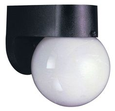 Westinghouse One-Light Exterior Wall Fixture #66803 New in Box w/Glass Globe #Westinghouse
