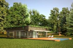 Philippe Starck and prefab builder, Riko, unveil their plans for a line of new sustainable, prefab homes available in Europe.