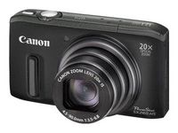 CNet's Best consumer compact  Canon PowerShot SX260 HS (Black)    The Canon PowerShot SX260 HS' wider, longer lens, a few much-needed design tweaks, and excellent photo quality add up to one pretty great compact megazoom.    Price: $185.00 - $325.99 (check prices)