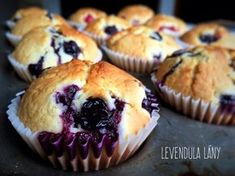 Learn how to make these better-for-you blueberry muffins Healthy Blueberry Muffins, Blueberry Breakfast, Breakfast Muffins, Blue Berry Muffins, Eat Breakfast, Breakfast Options, Cooking Lamb Chops, Cooking Pork Tenderloin, How To Cook Lamb