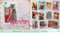 A Project by bluestardesign from our Scrapbooking Gallery originally submitted 03/01/13 at 08:58 AM galleries, birthday, bluestardesign, bucket, scrapbook idea, craft layout, scrapbook layout, 0858, scrapbook galleri