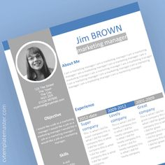 Profile Professional Microsoft Word CV template
