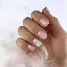 30 Pretty Pink White Nail Art Designs 2019 The color is very important in any visual designs, so is Pink White Nails, White Nail Art, Pink Nails, My Nails, Oval Nails, Stylish Nails, Trendy Nails, Cute Nails, Elegant Nails