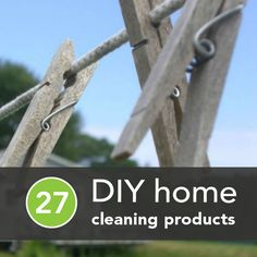 This is an amazing article, very very detailed and easy to read about 27 chemical-free products for DIY cleaning #home #health #DIY
