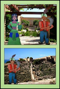 Desde el aula específica hemos ido realizando una serie de actividades para conmemorar el Milenio del Reino de Almería. Con ello quer...