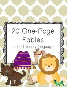 One Page Fables (Twenty Single Page Fables from Around the Globe)
