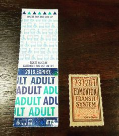 Sometimes the smallest pieces of history are the most fascinating. For example, take this ETS bus ticket from 1947, seen next to the current bus ticket style we know and love today. It's interesting to think where the original owner would have gone and what they would have done when they got there.  #antiques #edmonton #whyteave #antiquestore #antique #vintage #classic #yeg #yeglocal #yeglife #edmlife #collectables #ets #retro #bus #edmontontransit #curiosities #uniqueitems #oldiebutgoodie…