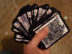 Illustrated Portland Playing Cards by aarontrotter on Etsy, $20.00