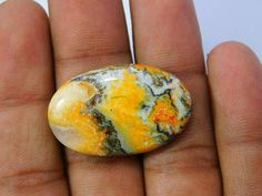 Amazing Natural Bumble Bee Jasper Cabochon Loose Gemstone