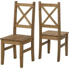 2 Pine Dining Chair Waxed Kitchen Furniture Mexican Rustic Style Quality Sturdy    Grab this Wonderful Opportunity. Visit By_touch2 and buy this bargainNow!