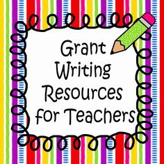 KB...Konnected Clips: Grant Writing Resources for Teachers
