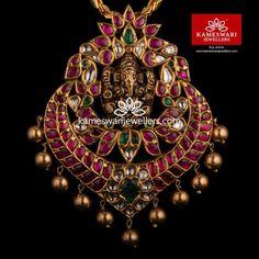 Buy Gold Pendants for Women Online Pendant Jewelry, Gold Jewelry, India Jewelry, Antique Jewelry, Ruby Jewelry, Chain Pendants, Antique Gold, Bridal Jewelry, Beaded Jewelry