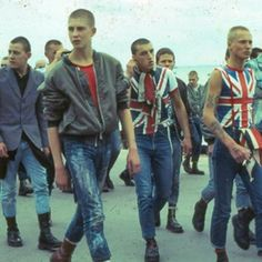London skinheads, 1980