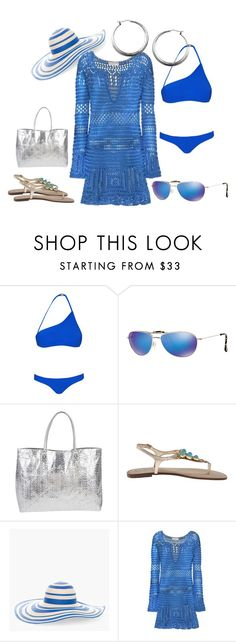"""""""Blue Skies"""" by bellastreasure on Polyvore featuring Zimmermann, Maui Jim, Lilly Pulitzer, Chico's and Emilio Pucci"""
