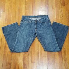 Express X2 Denim Laboratory Jeans Blue, X2 jeans. W31 flared leg. Size 4 short. Great condition. Like new. Front zipper and button. Two front and back pockets. 100% cotton. Inseam is about 30 inches. ***Price is firm*** Express Jeans Flare & Wide Leg