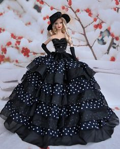 Fashion Royalty Blue Fishtail Skirt Mermaid embroidery Dress FOR 11.5in.Doll