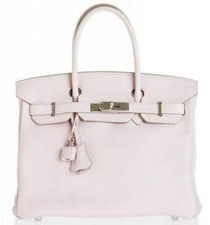 SAVE 21% Hermes Birkin 30CM Baby Pink Swift Leather Pladdium Hardware. ONLY $12,500