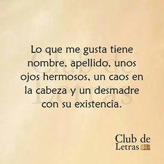 Lo que me Gusta... #ClubDeLetras.