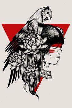 Índios brasileiros Key Tattoos, Body Art Tattoos, Tatoos, Native American Paintings, Native American Art, Tattoo Indio, Brazil Art, Trash Polka, India Art