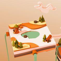 ArtStation - 3D Game Art Sketch, Aygun Kaplan