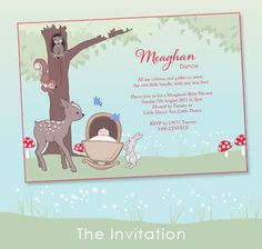 ON THE BLOG - Baby Forest Animals Baby Shower Party by Little Dance - www.littledanceinvitations.com.au