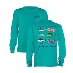 Palmetto Moon | Simply Southern Prep Fish Choices T-shirt | Palmetto Moon