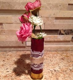 Wedding shotgun shell boutonniere by ItsADucksLife on Etsy