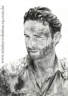 Rick Grimes (Andrew Lincoln) by Edihhferreira on DeviantArt