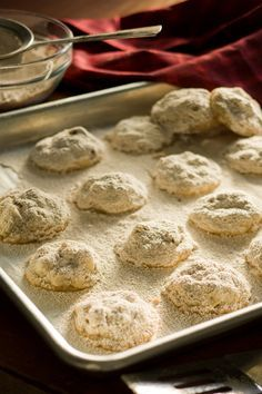 """One of the few recipes I inherited from my mom, who much prefers ironing to cooking.  These 4-ingredient German Drop Cookies are my kids favorites."""