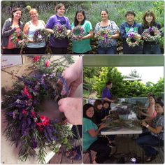 Lavender & Herb wreath making - a summer exclusive at AKL Maui