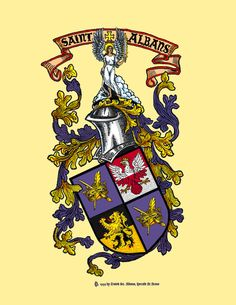 The Arms of St. Albans (my work)