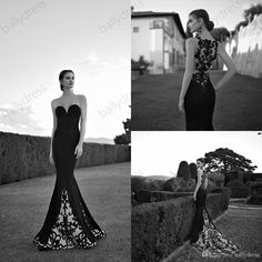 Free shipping, $115.19/Piece:buy wholesale  Hot Fashion Mermaid Evening Dresses Sheer Crew vestidos Women Gown Appliques Lace Embroidery Prom Gown Plus Size Spring 2015 Tarik Ediz2015 Spring Summer,Sweep Train,Plus on ballydress's Store from DHgate.com, get worldwide delivery and buyer protection service.