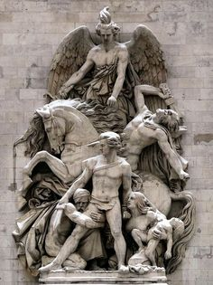 Sculpture de l'Arc de Triomphe