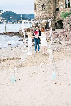 La Napoule wedding Beach | Image by Gaëtan Jargot