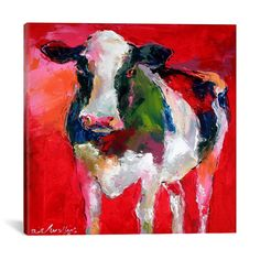 Cow by Richard Wallich – Hearts Attic
